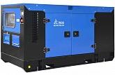 Дизельный генернатор (ДГУ, ДЭС) 250 кВт / 312 кВА ТСС АД-250С-Т400-1РКМ5 в шумозащитном кожухе